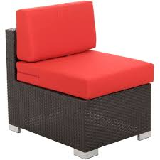 bfm seating ph5101jv m aruba java wicker outdoor indoor armless