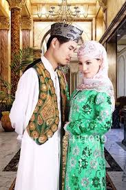 muslim and groom free shipping custom design muslim and groom wedding dresses