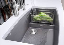 Stone Sinks Kitchen by How Clean Is Your Sink Blanco By Design