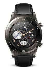 amazon com huawei watch 2 classic u2013 titanium grey with black