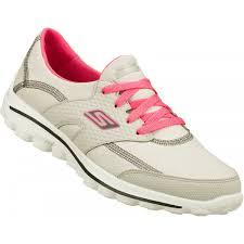 womens skechers boots sale skechers womens go walk 2 golf shoes gray pink on sale carl s
