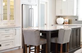 kitchens with different colored islands the two toned cabinets kitchen trend curb appeal