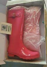 womens rubber boots size 9 pink rubber boots for ebay