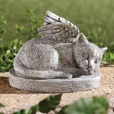 cat memorial cat memorial statue garden angel with regard to design 4