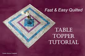 quilted square table toppers square in a square table topper easy tutorial freemotion by the river