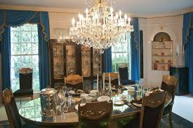 dining room pics a look at graceland mansion home of the king