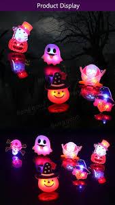 2pcs kids halloween led brooch halloween kids party supplies led