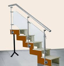 Glass Stair Banister Steel Plus Railing Solution Ss Glass Railing Ss Glass Stair