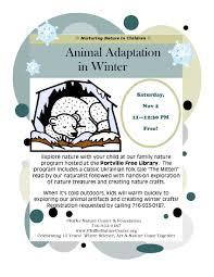 pfeiffer nature center u0027s nurturing nature in children animal