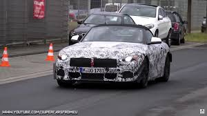 2018 bmw z4 spotted featuring aero winglets