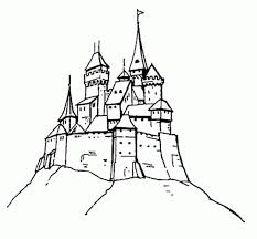castle coloring pages bestofcoloring com