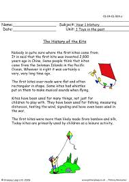primaryleap co uk the history of the kite worksheet