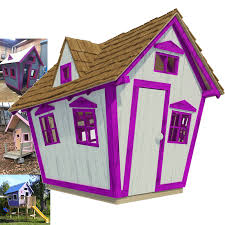 Free House Plans With Material List Step By Step Diy Guide Complete Set Of Playhouse Plans