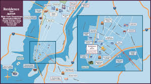 New York City Map Of Manhattan by Visit New York City Attractions Near Our Manhattan Hotel