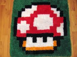 mushroom latch hook rugs sprite stitch