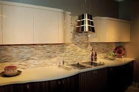 Best Backsplash Ideas For Small Kitchen 8610 Baytownkitchen by Kitchen Rustice Beige Subway Tile Backsplash With Skinny Trim Row