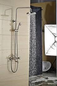 Auralum Chromeplated Tub Taps Waterfall Bathtub Faucet Wallin - Faucet sets bathroom