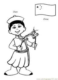 children around the world coloring pages printable the paper