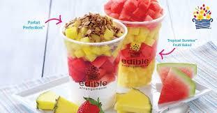 ediable fruit fruit parfait and fruit salad picture of edible arrangements