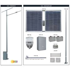 Solar Led Street Lighting by Solar 35w 65w 100w 135w Led Street Parking Lot Light With Pole