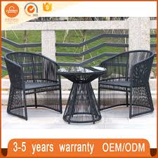 Woven Bistro Chairs China Cheap Outdoor Furniture Set Wicker Pro Garden Woven Bistro