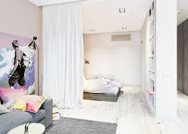 bedroom divider ideas room divider ideas for studio apartment of with inspirations cool