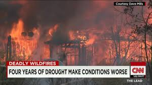 Wildfire Cali by Winds Fueling Massive California Wildfire Cnn Video