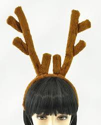 reindeer antlers headband plush reindeer antlers headband costumes wigs theater makeup and