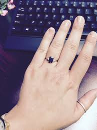 sheffield engagement rings show me your black engagement rings pics weddingbee