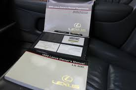 100 lexus sc430 owners manual 2005 used lexus sc cars for