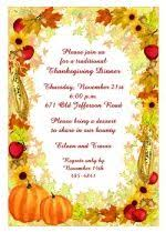 21 best thanksgiving invitations images on thanksgiving
