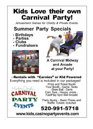 carnival party rentals tucson casino party arizona rentals 520 990 0038 slot