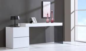 white high gloss desk mia modern office desk in white high gloss free shipping get