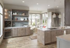 Yorktown Kitchen Cabinets by Warm Modern Kitchen Featuring Medallion Cabinetry U0027s Bella Door In
