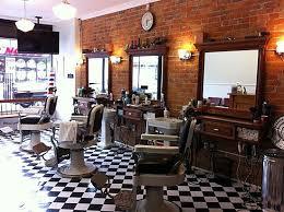 Latest Barber Shop Interior Design Best 25 Barber Shop Interior Ideas On Pinterest Barbershop