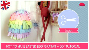 easter egg pinata diy tutorial how to make easter egg piñatas by fantasvale easter