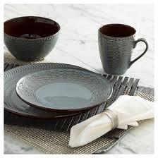 pfaltzgraff expressions sullivan 16pc dinnerware set glazed