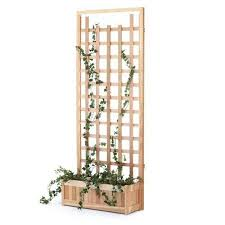Wooden Planter With Trellis Cheap Cedar Wood Planters Find Cedar Wood Planters Deals On Line