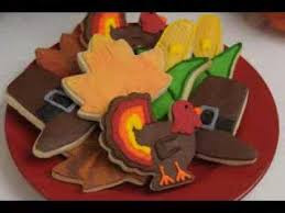 thanksgiving cookie decorating ideas
