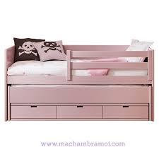 canape lit enfant lit banquette enfant 90x200 cm 3 tiroirs et tiroir lit cometa
