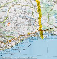 Map Of Southern Michigan by Map Of Southern Portugal U0026 Algarve Michelin U2013 Mapscompany