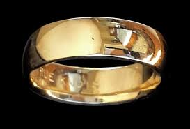 the one ring wedding band plain gold band my precious webshop authentic free