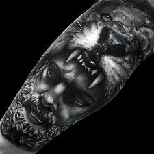 god with mens leg sleeve