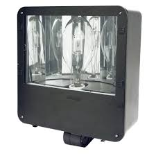 Landscape Flood Light by 120 Degree Black Motion Sensing Outdoor Integrated Led Landscape