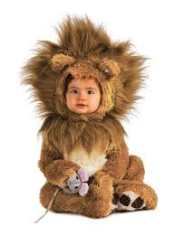 Newborn Halloween Costumes 0 3 Months Amazon Rubie U0027s Costume Infant Noah Ark Lion Cub Romper Clothing