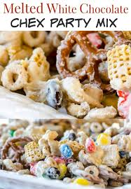 delicious quick chex party mix recipe chex party mix party