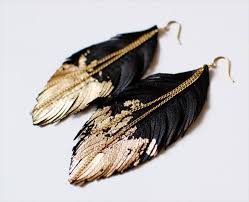 make feather earrings 25 diy feather jewelry design diy to make