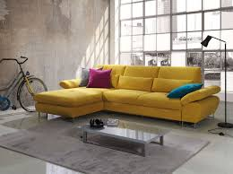 Modern Yellow Sofa Best Contemporary Yellow Microfiber Sectional Sleeper Sofa With