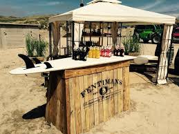 surfboard as bar top how cool tubs and garden bars