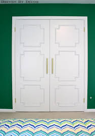 Diy Closet Door Update Your Flat Doors With This Diy Molding Makeover Driven By